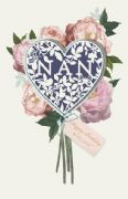 Nan Heart Bouquet Birthday Card